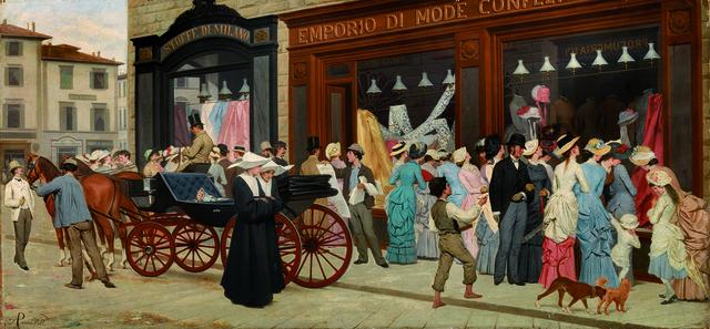 , 'La Moda,' 1870, Robilant + Voena