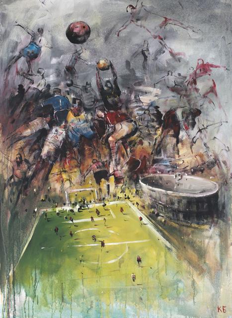 ", '""Football"" 12,' 2018, Krokin Gallery"