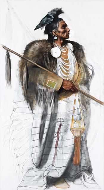 , 'Chief Medicine Crow,' 2017, Galerie Michael Haas