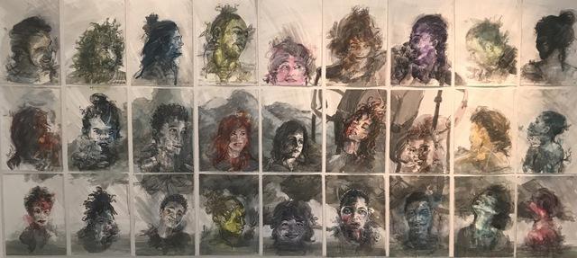 , 'Situados,' 2017, Arte Berri