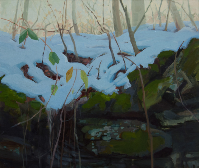 , 'Forest Floor with Melting Snow,' 2016, Inman Gallery