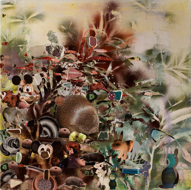 Liu Shih-Tung, 'The Calling of the Grassland', 2019, Painting, Mixed media on canvas, Lin & Lin Gallery