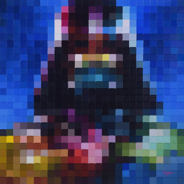 , 'A Colorful Vader,' , Blue Gallery
