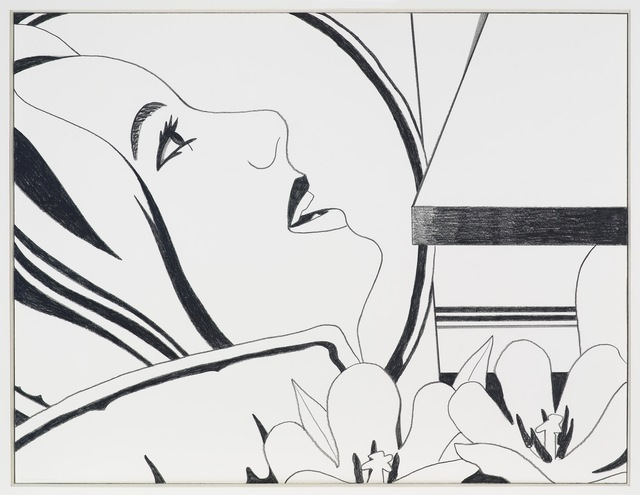 , 'Bedroom Face Drawing,' 1977-1979, Gagosian