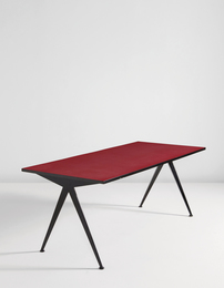 "Jean Prouvé, '""Compas"" cafeteria table, model no. 512,' ca. 1953, Phillips: Design"