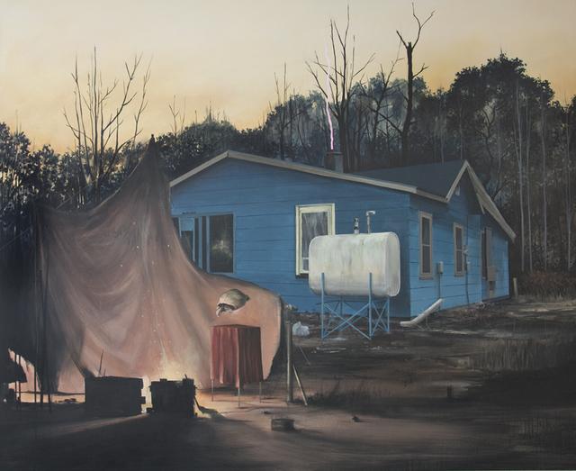 , 'Vorhandene Feuer nutzen (Rast der Offiziere),' 2014-2015, Ambacher Contemporary