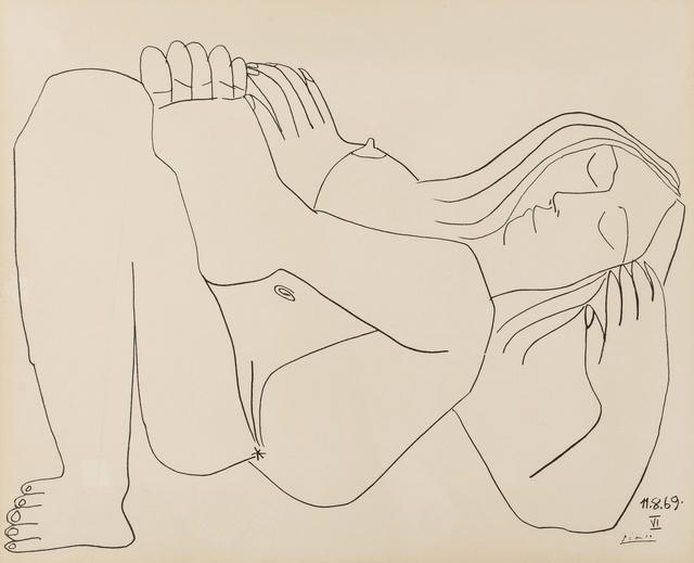 Pablo Picasso, 'Femme Nue, NOS 11.8.69, NOS I & VI', 1969, Forum Auctions