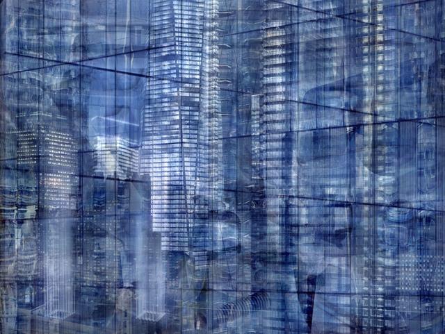 , 'W.T.C: Concrete Abstract #15,' 2011-2013, Julie M Toronto