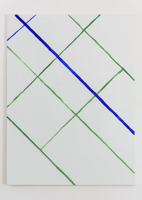 , 'Cartouche Painting N°10,' 2017, Galerie Chantal Crousel