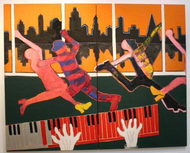 Joan Brown, 'Dancers in a City #4', 1973, di Rosa