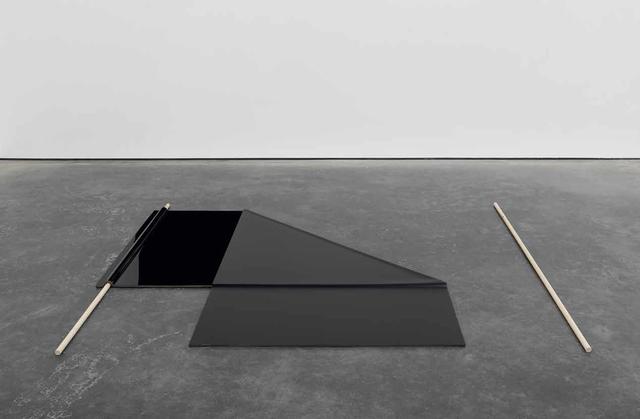 , 'Folded flag,' 2013, Galeria Luisa Strina