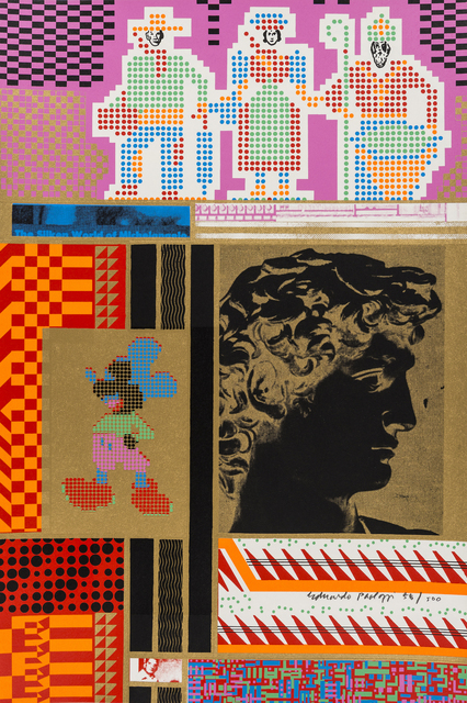 Eduardo Paolozzi, 'The Silken World of Michelangelo', 1967, RAW Editions