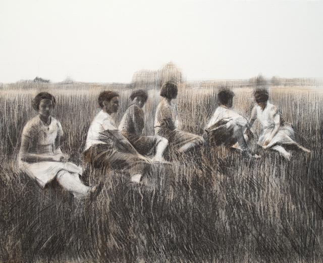 , 'Sis figures,' ca. 2017, Anquins Galeria