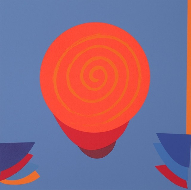 , 'Orange and Blue Space,' 1999, The Missing Plinth