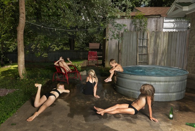 Julie Blackmon, 'Bathers', 2019, G. Gibson Gallery