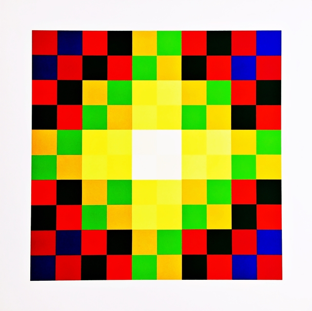 , 'Relation Couleur,' 1973, Alpha 137 Gallery