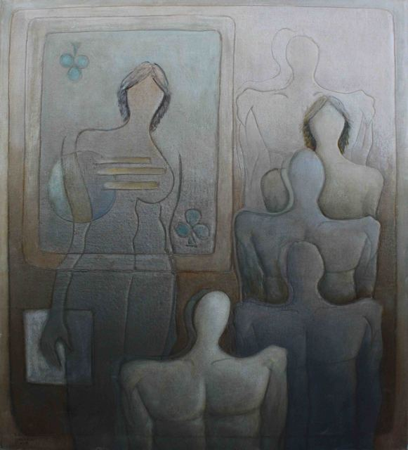 , 'Discourse of Silence 18,' 2012, al markhiya gallery