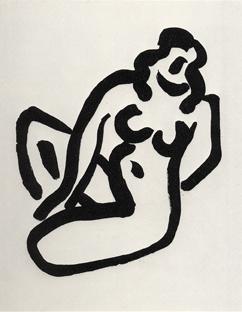 , 'Nu accroupi I,' 1947, Cristea Roberts Gallery