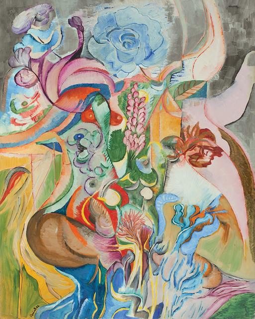 , 'Flowering,' 1986, Dag Modern