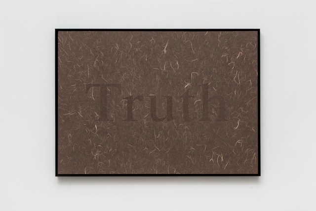 , 'Transparent Color-Truth,' 2018, Asia Art Center