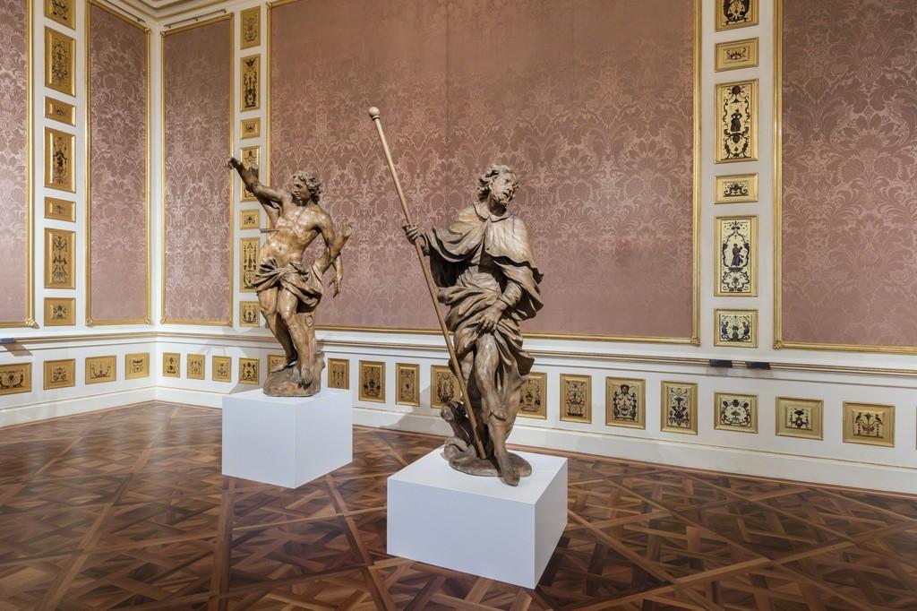 Exhibition View Heavenly! The Baroque Sculptor Johann Georg Pinsel, Photo: © Belvedere, Vienna, 2016