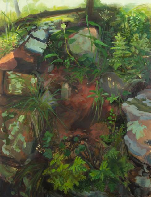 , 'Rocky Hillside,' 2012, Inman Gallery