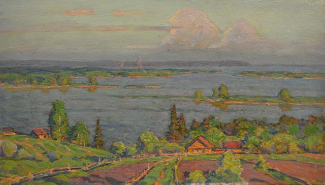 Boris Sergeevich Pushkov, 'My father´s house', 1996, Surikov Foundation