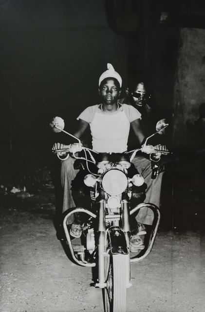 , 'On the Suzuki,' 1975, HackelBury Fine Art
