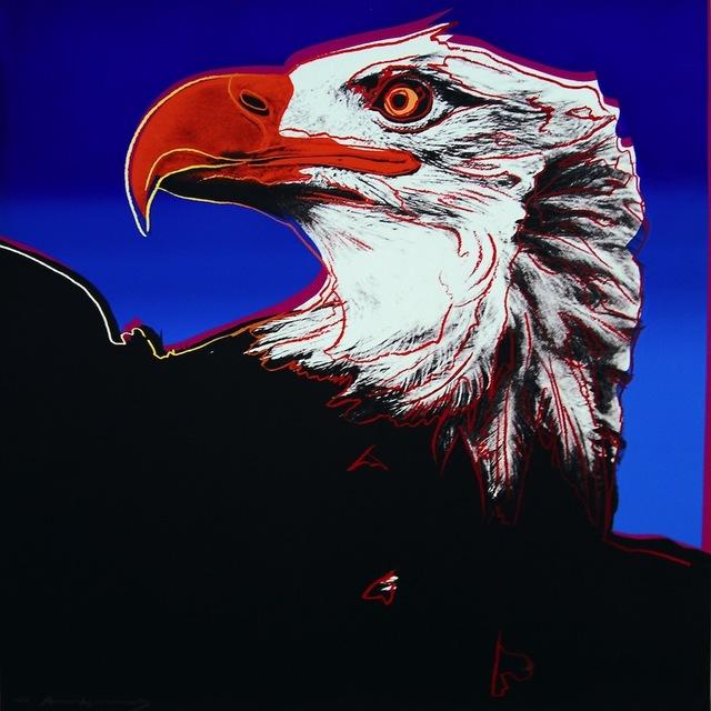 Andy Warhol, 'Bald Eagle, from Endangered Species', 1983, Gregg Shienbaum Fine Art