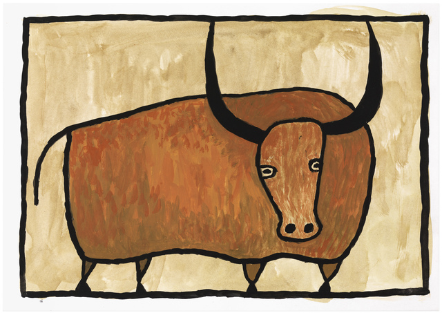 , 'Bull,' undated, Gallery NAGA