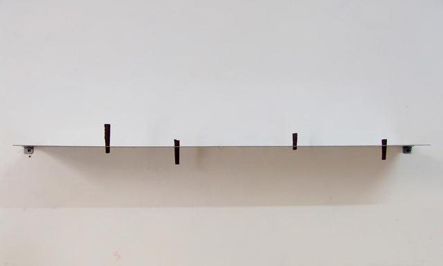 , 'Shelf with cigars (Putin, Capote, Kerouac, Luigi XIV, Twain, Lou Reed ),' 2015, Nogueras Blanchard