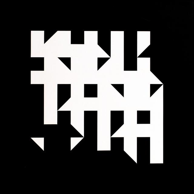 Kathleen Hyndman, 'Straight Line Rotation, White on Black.Forest', 1986, Zuleika Gallery
