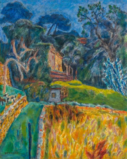 Pierre Bonnard, 'Paysage méridional - L'enclos aux chèvres', 1944-1945, BAILLY GALLERY