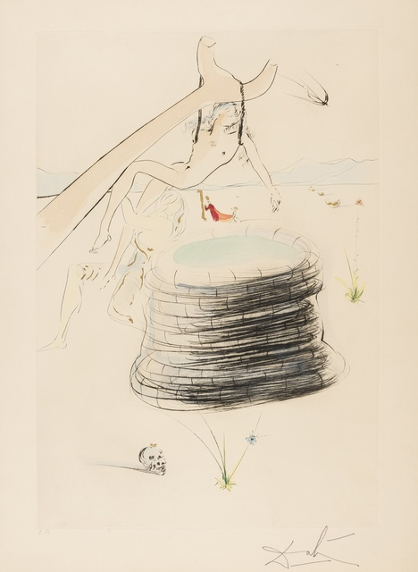 Salvador Dalí, 'Joseph (from Our Historical Heritage) (M & L 753; Field 75-4-I)', 1975, Print, Etching with pochoir printed in colours, Forum Auctions