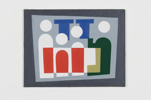 , 'Personnages,' 1928, von Bartha