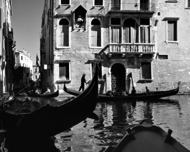 , 'Gondole Tra Il Canal Grande E Rio San Giovanni Crisostomo (Gondolas between the Grand Canal and Rio San Giovanni),' Venice 1996, Arthill Gallery