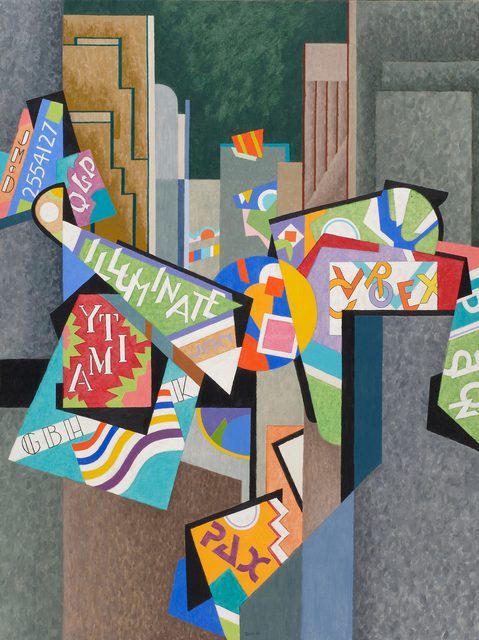 , 'City Lights #3,' 1996, Caldwell Gallery Hudson