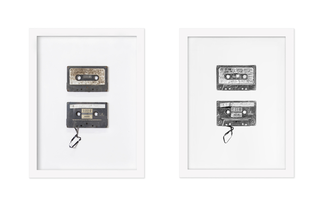 , 'Found Objects #6 & #7 (Cassettes),' 2017, Hashimoto Contemporary