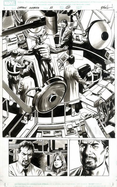 , 'CAPTAIN AMERICA (2008) #33, PG 23 1st: Bucky as Captain America,' 2008, Gallery 30 South