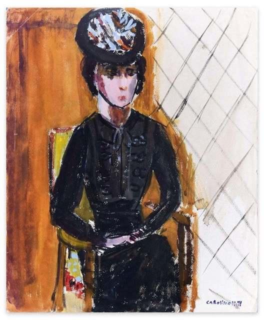 Caroline Hill, 'Woman in Black', 1970s, Wallector