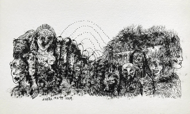 Tasaduq Sohail, 'Untitled', 1999, The Noble Sage Collection