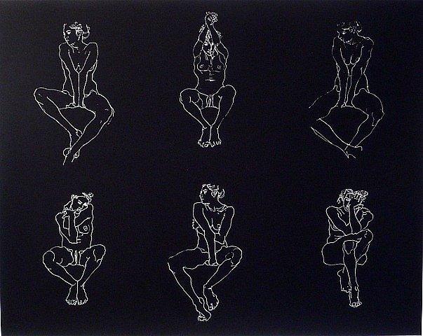 Robert Graham, 'Untitled, Six Nudes', 2004, David Lawrence Gallery