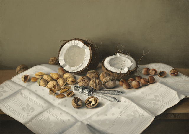 Frank Harrison Miller, 'Tabletop with Coconut and Nuts', Date Unknown, Questroyal Fine Art