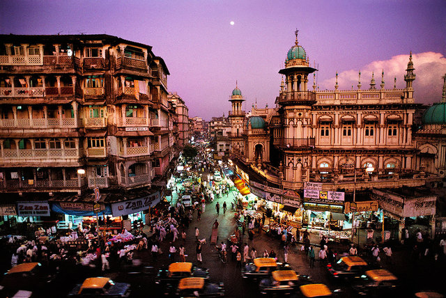 , 'Moonrise over Mumbai, India,' 1994, Sundaram Tagore Gallery
