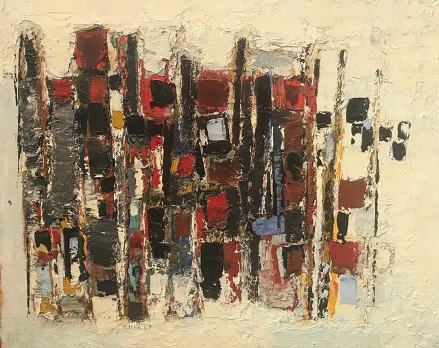 , 'Red, Blue and Black,' 1957, Goodman Fine Art