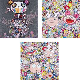 Takashi Murakami, 'Panda & Panda Cubs; Kaikai & Kiki: Dreaming of Shangri-la; and The Creative Mind,' 2015, Phillips: Evening and Day Editions