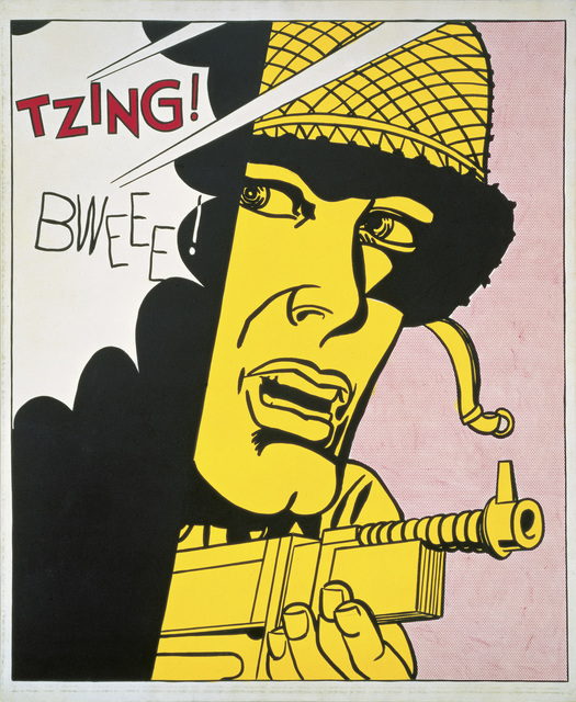 , 'Live Ammo (Tzing!),' 1962, San Francisco Museum of Modern Art (SFMOMA)