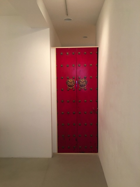Zhang Hongtu, 'The Red Door', 1995, Baahng Gallery