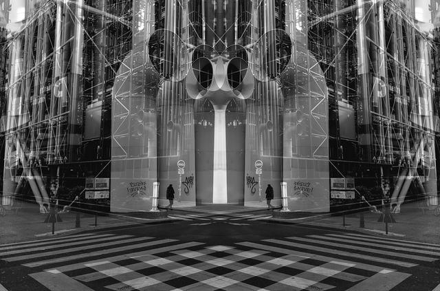 , 'Crossroads, Paris,' 2018, Barnard