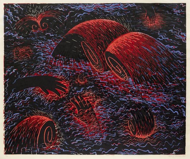 Louisa Chase, 'Red Sea', 1983, Hirschl & Adler